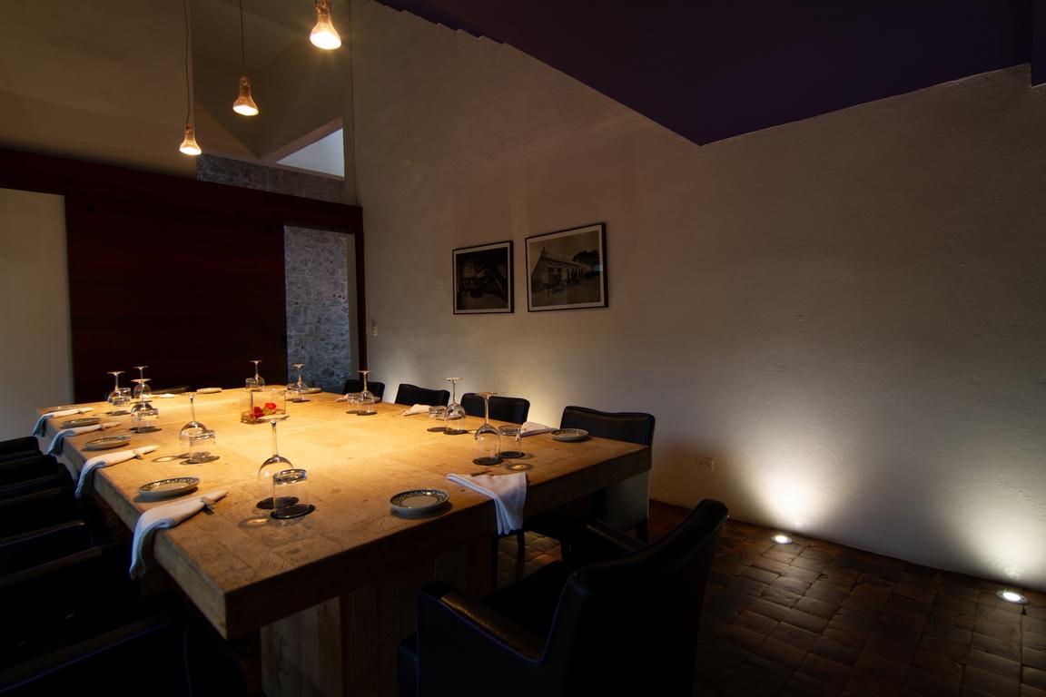 RESTAURANTE HOTEL <br />LA PURIFICADORA